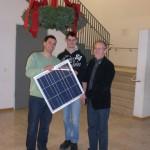 Photovoltaik-Modul für die Theresia-Gerhardinger-Realschule