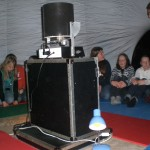 Mobiles Planetarium mit Adi Steininger