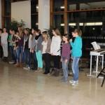 Eindrücke vom Friedensgebet in der Aula