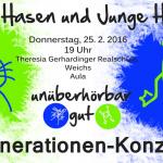 """Konzert """"Alte Hasen und junge Hüpfer"""""""