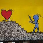 "+Projekttage: ""Malen wie Keith Haring""+"