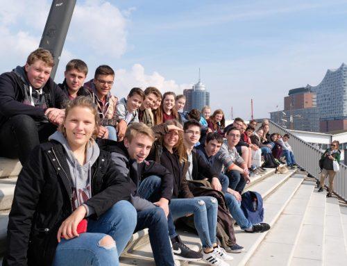 Studienfahrt nach Hamburg: 10a