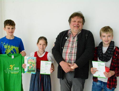 Preisträger des Mathe-Känguru Wettbewerbs
