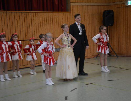 Auftritt Prinzengarde Schwabhausen
