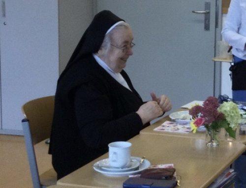 Die TGRS gratuliert Schwester Konstantine zum 80. Geburtstag
